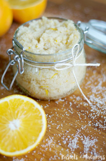Homemade Orange Scrub