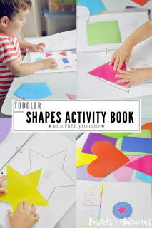 Toddler Shapes Activity Book- With Free Printable