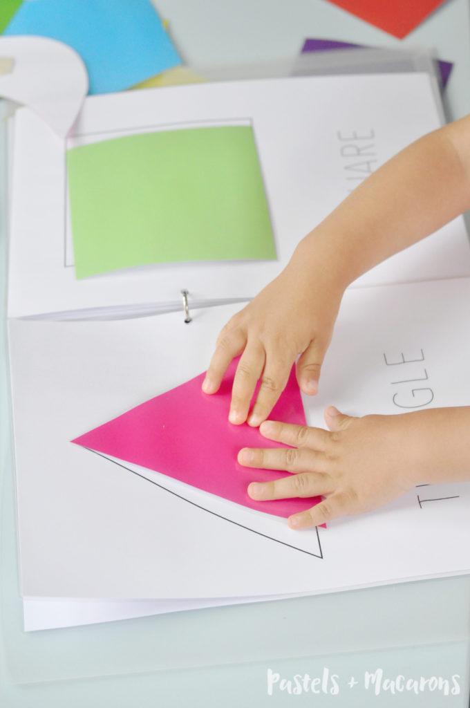 toddler shapes activity book. Black Bedroom Furniture Sets. Home Design Ideas