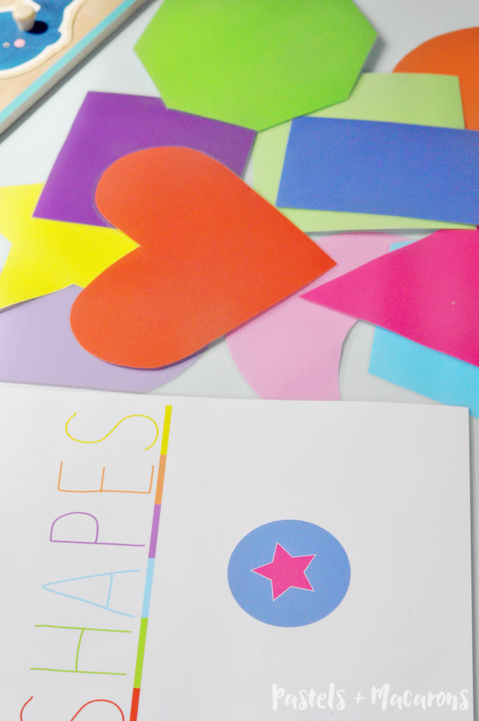 Don't miss this free printable Toddler Shapes Activity Book! The perfect way to keep your kids busy and learning with ease!