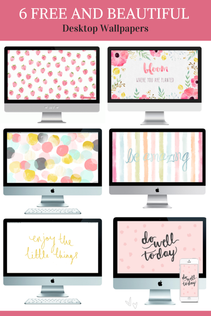 Check out our free desktop wall papres to inspire you every day while you work!