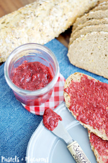 Strawberry And Chia Seed Jam