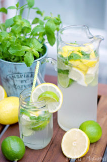 The Best Homemade Lemonade Recipe : A Low Calorie Alternative