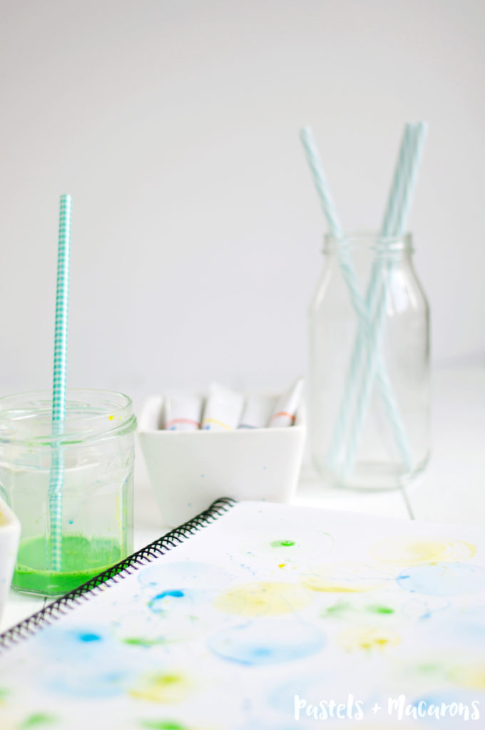 Super Fun & Easy DIY Bubble Art