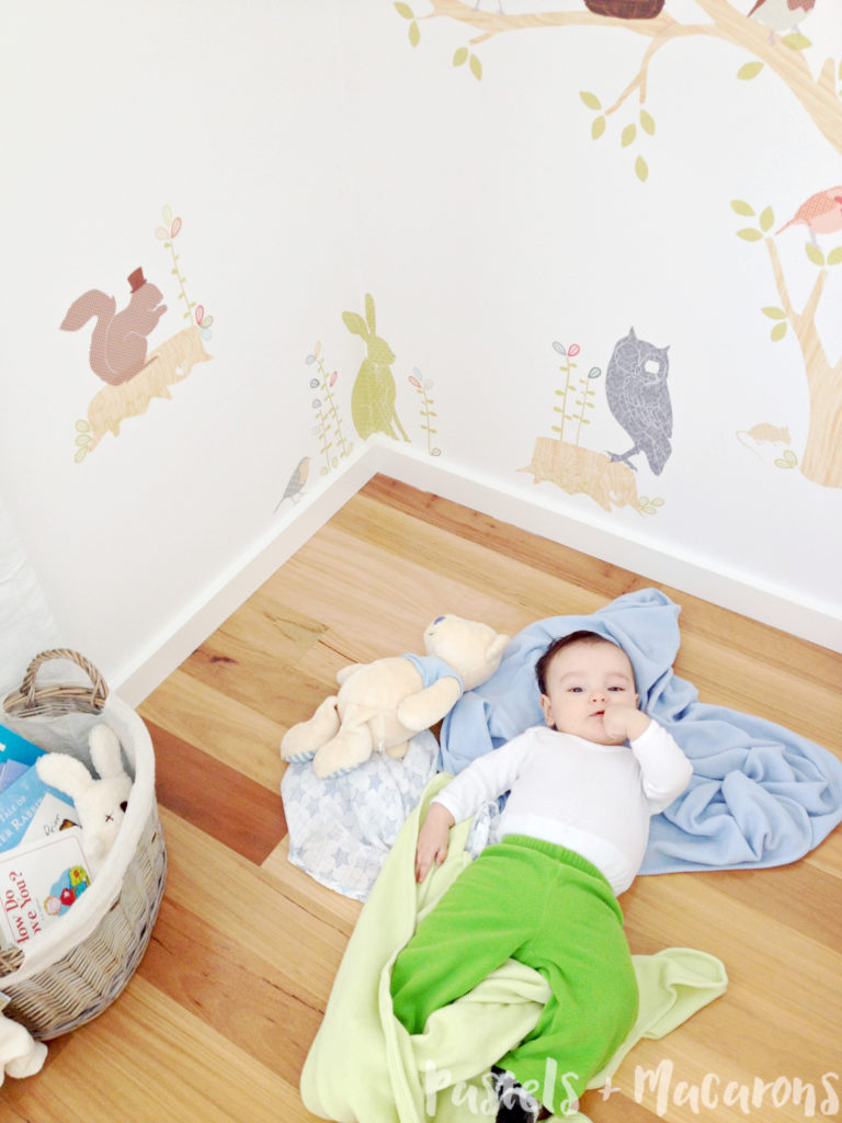 Whimsical Forest Creatures Nursery by Pastels & Macarons