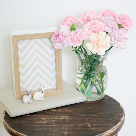IKEA Frosta Stool Hack by Pastels & Macarons
