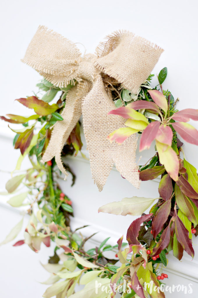 How To Make A Fresh Fall Wreath