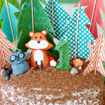 Woodlands Forest Cake Toppers