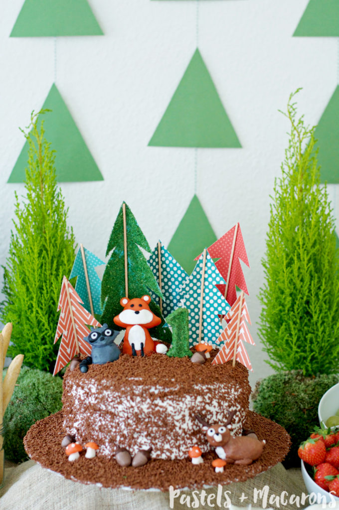 Save Woodlands Forest Cake Toppers By Pastels Macarons Woodlandstheme Forestcake Foresttheme
