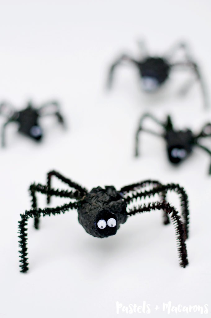 Pinecone Spider Halloween Craft The Whole Family Will Love