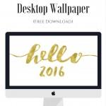 Free New Year Desktop Wallpaper