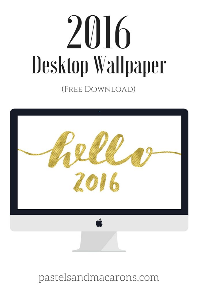 Celebrate the new year with this free desktop wallpapers download!
