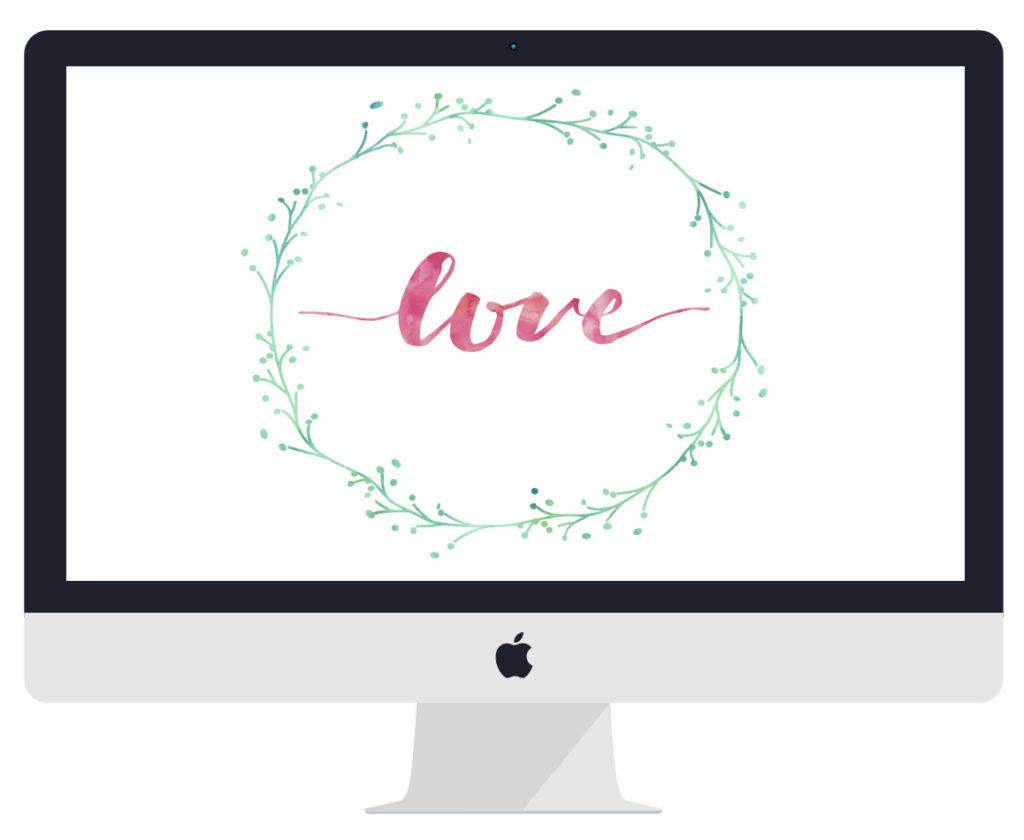 Free Love Desktop Wallpapers are a great way to remind yourself to have a loving attitude all day long while you work!