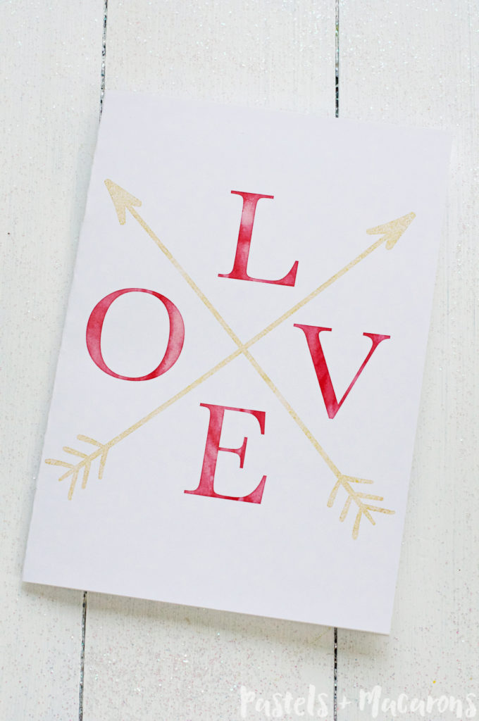 free printable gold foil valentine cards make the perfect gift this valentines day you can