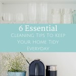 Organization And Cleaning Tips To Keep Your Home Tidy Everyday