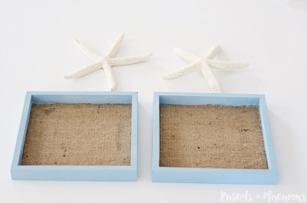 Nautical Wall Decor Starfish Hanging to give any space in your home that coastal feel. This is such an easy craft to make!