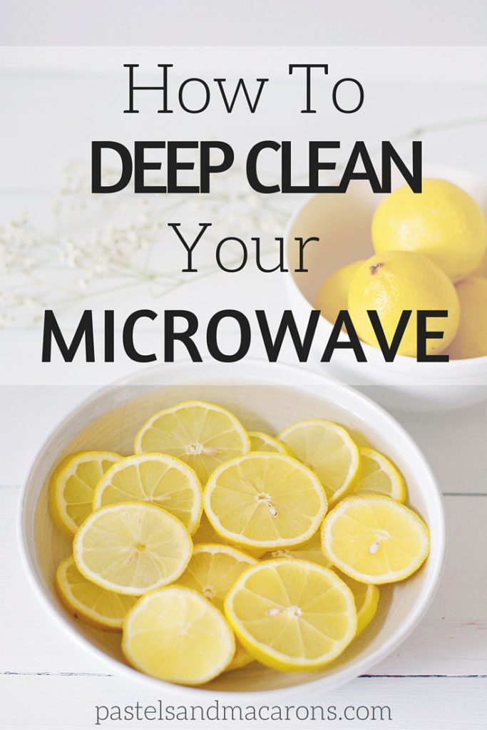 Learn How To Clean A Microwave Without Harsh Chemicals. This is a natural cleaning alternative and a frugal cleaning option to keeping your home sparkling!