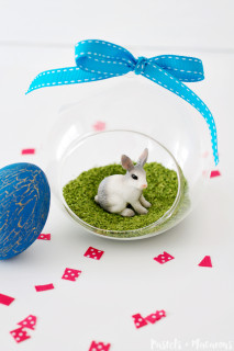Easter Crafts – Make An Easter Bunny Terrarium