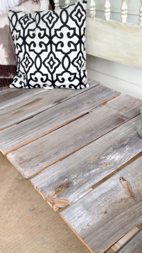 She decided to turn a meaningful outdated piece of furniture into a DIY Headboard Bench!