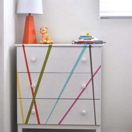 Ikea Tarva Dresser Makeover for Kids Room