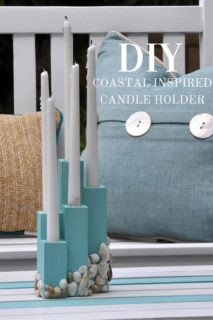 Beach Theme Candle Holder