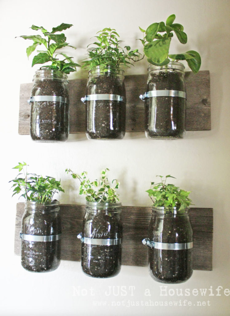 Gorgeous indoor herb garden ideas for your walls or table tops.