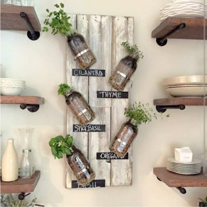 Gorgeous indoor herb garden ideas. Perfect for your home all year round.