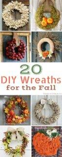DIY Fall Wreaths – 20 Stunning Wreaths You Can Make This Fall