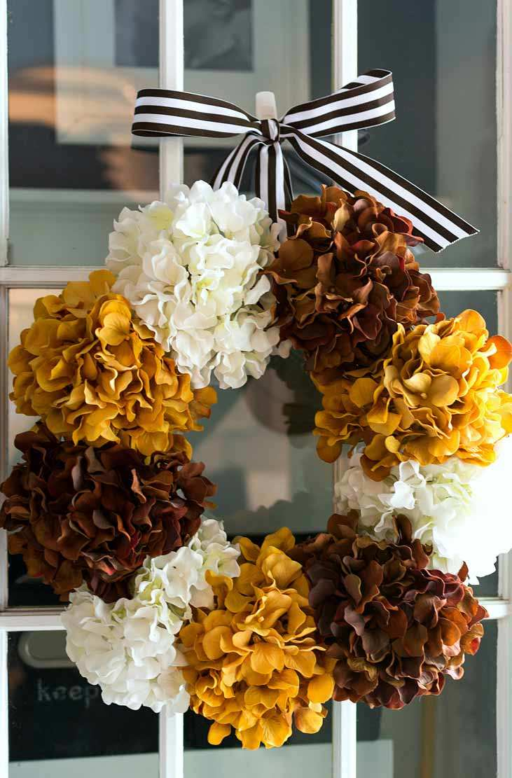 get blown away by these diy fall wreath ideas