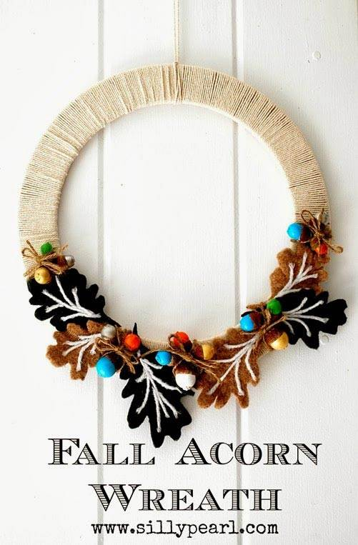 some fabulous diy fall wreath ideas