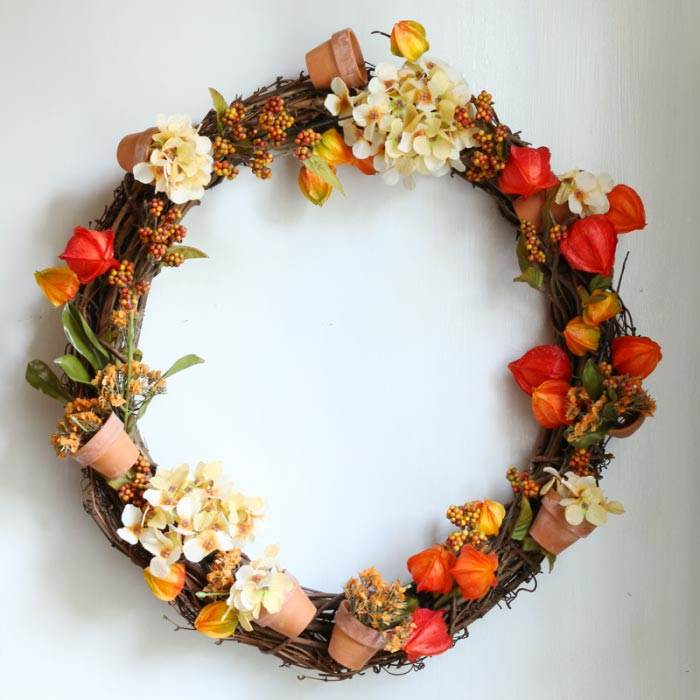 The most gorgeous DIY Fall Wreaths from around the web