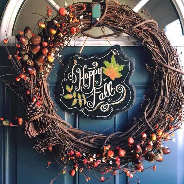 these are stunning diy fall wreaths
