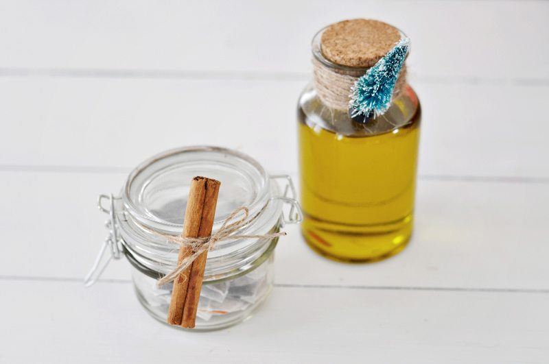 Body oil for DIY Spa Gift Basket