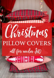 Affordable Christmas Cushion Covers for under $10