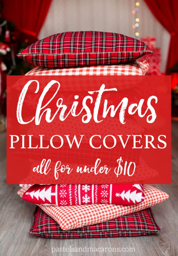 Stunning christmas throw pillows you can buy for a bargain for Buy pillows online cheap