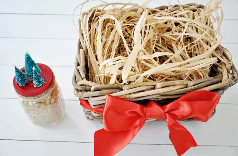 DIY Spa Gift Basket for Christmas