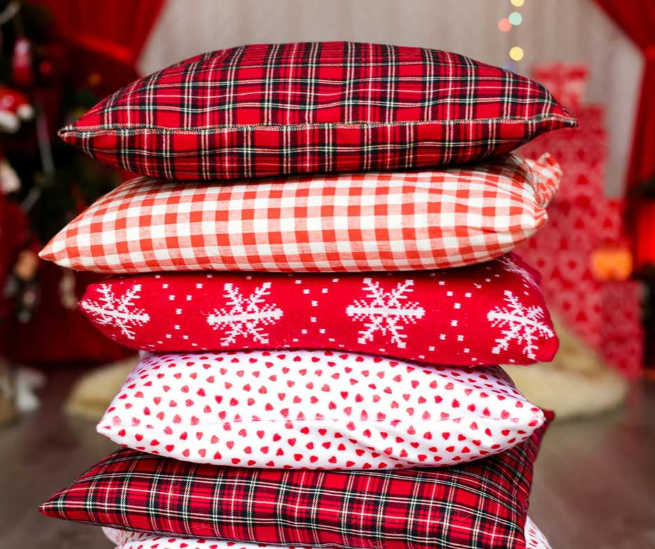 stunning christmas throw pillows you can buy for a bargain