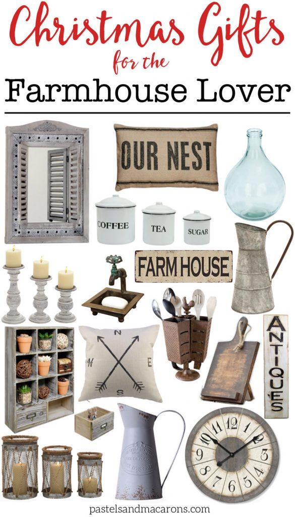 Farmhouse Gift Ideas for the home to give the Farmhouse lover this Christmas.jpg