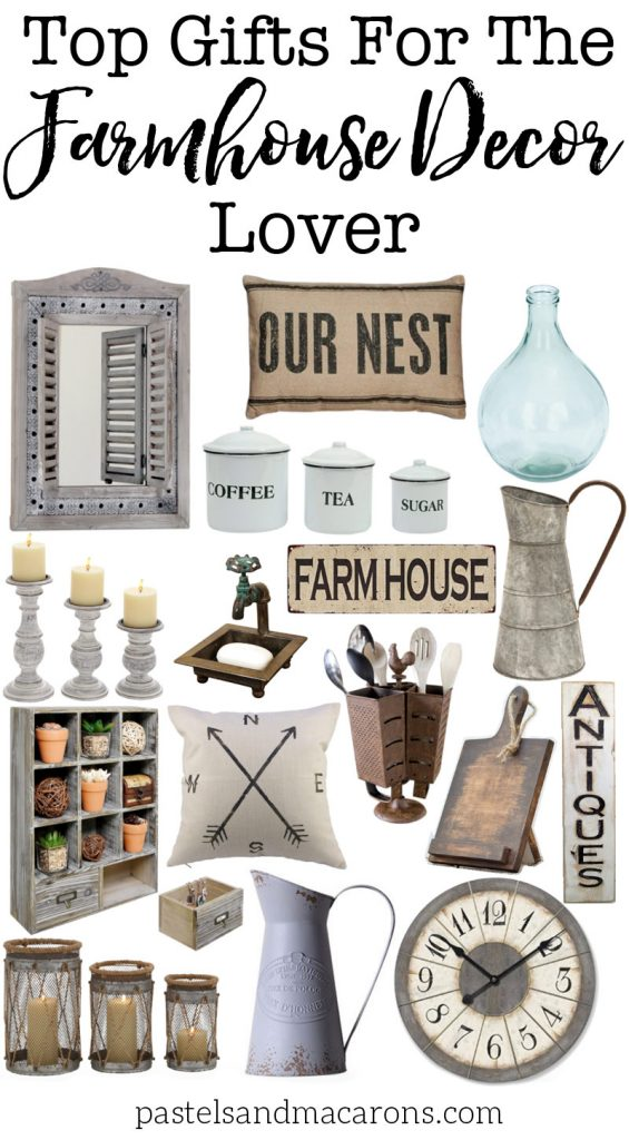Farmhouse gift ideas for the farmhouse decor lover for Home decorating gift ideas
