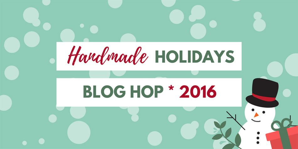 Handmade Holidays Blog Hop - DIY Spa Gift Basket