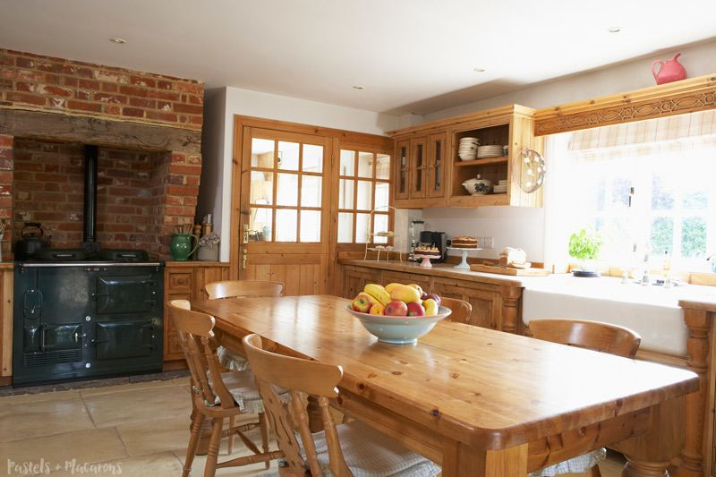 original kitchen design. When I think kitchen design ideas that inspire charm my mind always goes  back to country cottage and this one is exactly love home where parts of 30 Kitchen Design Ideas That Inspire Charm Elegance