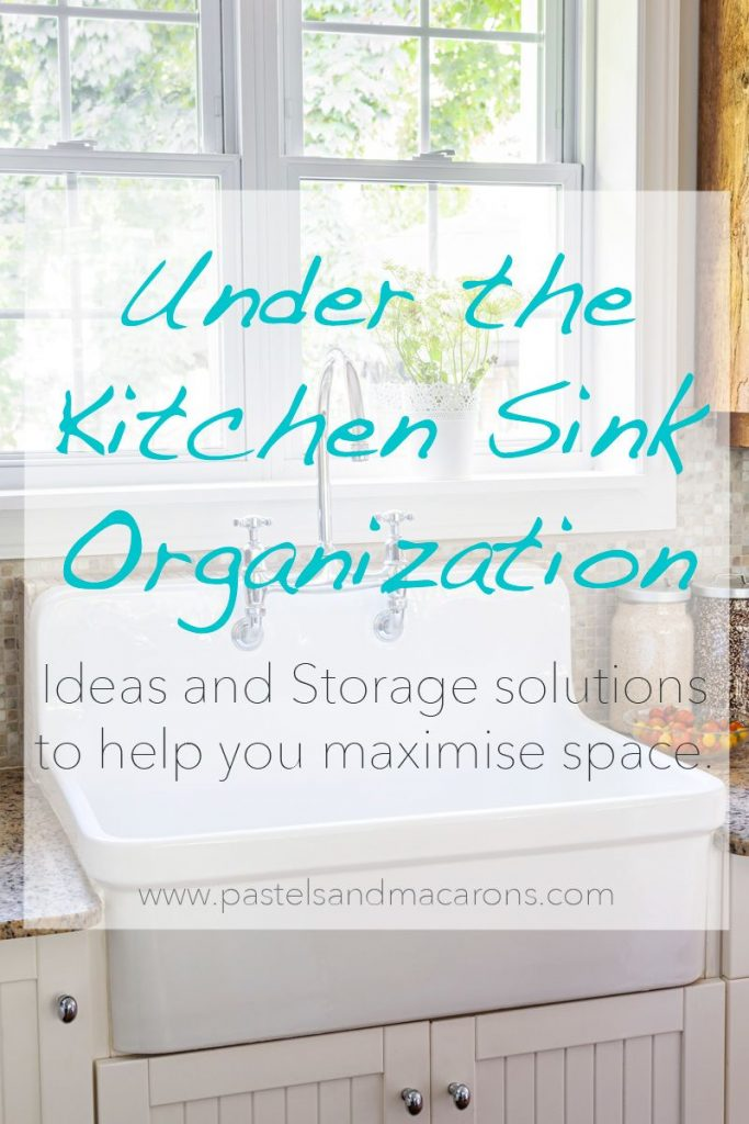 Under the kitchen sink organizing ideas and storage solutions to help maximize cupboard space