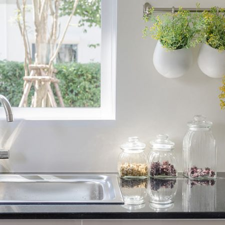 Really clever kitchen sink organizing ideas