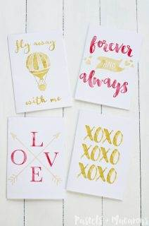 Valentines Day Cards – Free Printable Gift Cards
