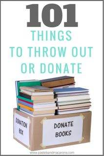 Things To Throw Away Or Donate Right Now To Help You Declutter