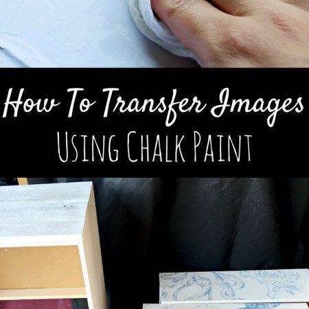 The BEST Image Transfer Technique Using Paint On Furniture