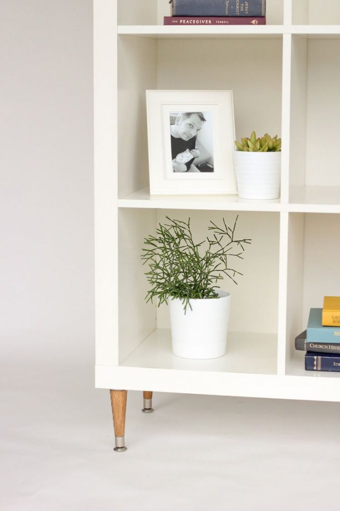 See 20 of the best Ikea Kallax Hacks ideas and the different ways you can DIY them for your home. This simple Ikea hack is perfect as a bookshelf storage idea for the living room or library.