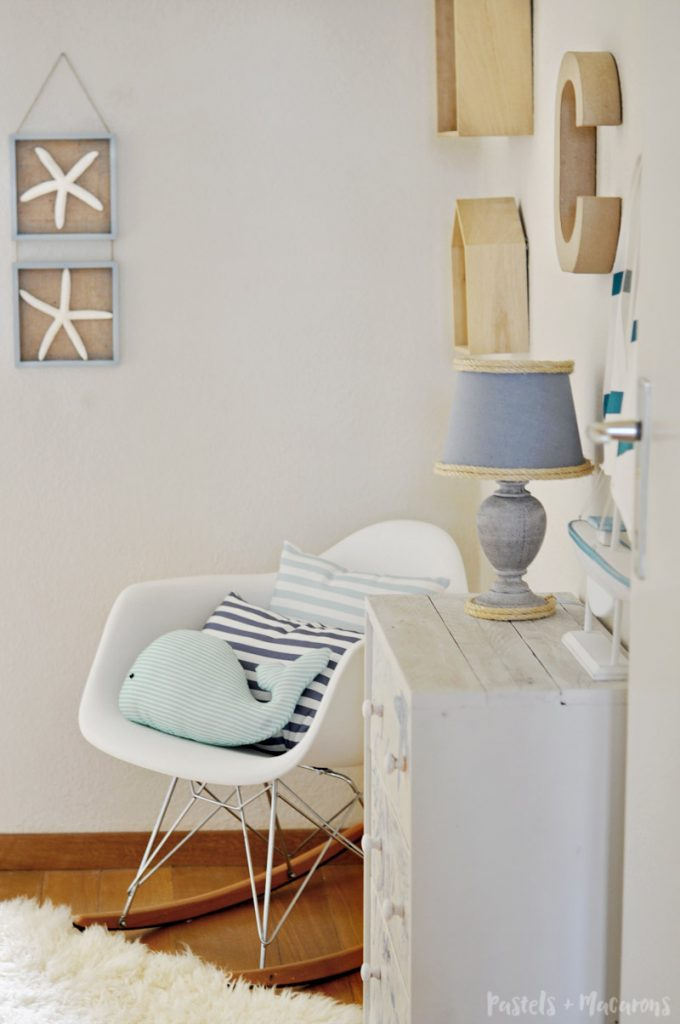 Coastal / nautical Ikea Rast Hack