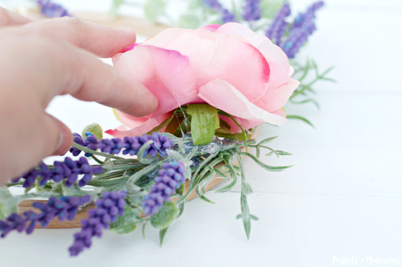 lavender wreath tutorial