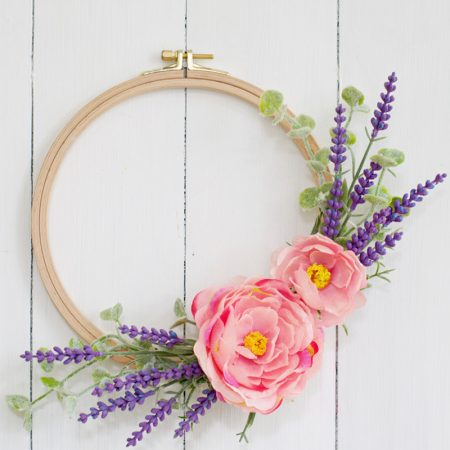 DIY Lavender Wreath Tutorial : 10 Minute Craft Idea